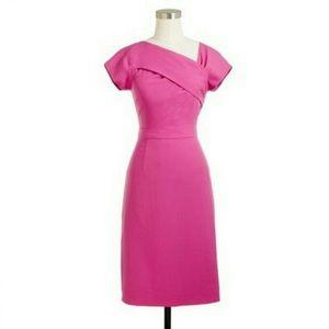 J Crew Pink Origami Dress